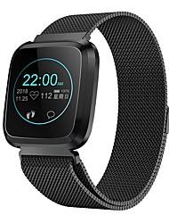 abordables -L18s Reloj elegante Android iOS Bluetooth Smart Deportes Impermeable Monitor de Pulso Cardiaco Reloj Cronómetro Podómetro Recordatorio de Llamadas Seguimiento de Actividad Seguimiento del Sueño
