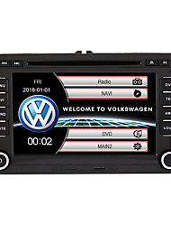 economico Frankfurt International Auto Accessories Show-520WGNR04 7 pollice 2 Din Windows CE In-Dash DVD Player GPS / Schermo touch / Bluetooth integrato per Volkswagen Supporto / Uscita per subwoofer / Giochi / Supporto per scheda SD e attacco USB