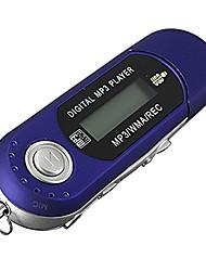 Недорогие -Портативный мини mp3 ЖК-дисплей Цифровой USB-накопитель музыка mp3-плеер Поддержка TF емкость Макс 32G FM-радио