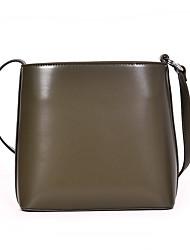 hesapli -Kadın's Çantalar PU Omuz çantası Fermuar için Günlük Siyah / Kahverengi / Şarap