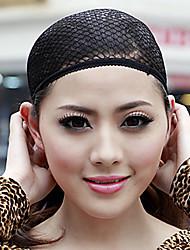 저렴한 -도구 & 악세사리 나일론 가발 캡 / 메쉬 가발 모자 빗장 클래식 / 울트라 스트레치 라이너 1 pcs 일상 클래식 블랙