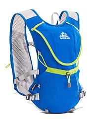 halpa -AONIJIE 8 L Selkäreput Hydration Backpack Pack Kevyt Hengittävä Erikoiskevyt(UL) Nopea kuivuminen Ulko- Vaellus Kiipeily Kilpailu Polyesteri Nylon Musta Sininen / Yes / Kulutuskestävyys