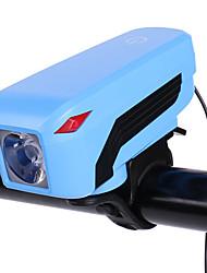 Недорогие -Велосипедные фары Передняя фара для велосипеда Велосипедный рог Фары для велосипеда LED Горные велосипеды Велоспорт Безопасность Портативные USB Перезаряжаемая батарея 18650 320 lm USB / АБС-пластик