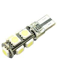 halpa -1 Kappale T10 / W5W Auto Lamput 7 W SMD 5050 9 LED Suuntavilkku / Sivumerkkivalot / Jarruvalot Käyttötarkoitus Kaikki vuodet