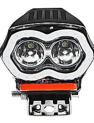 Недорогие -20w 12 / 80v ip68 2000lm вело ангела мотоцикла глаза фары usb