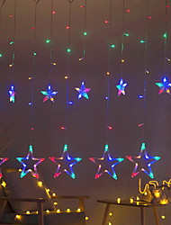 abordables -2,5 m Guirlandes Lumineuses 138 LED Plusieurs Couleurs Décorative 220-240 V 1 set