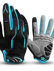 Недорогие -CoolChange Перчатки для велосипедистов Перчатки для горного велосипеда Горные велосипеды Дышащий Противозаносный Впитывает пот и влагу Защитный Спортивные перчатки Махровая ткань