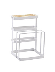 cheap -Kitchen Organization Storage Boxes / Cookware Holders Metal Storage / Easy to Use 1pc