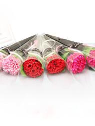 Недорогие -Искусственные Цветы 1 Филиал Классический Свадебные цветы Modern Гвоздика Букеты на стол
