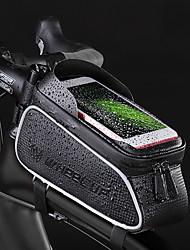 Недорогие -Wheel up 2.457 L Сотовый телефон сумка Бардачок на раму Компактность Велоспорт Пригодно для носки Велосумка/бардачок Терилен Велосумка/бардачок Велосумка Велосипедный спорт / iPhone X / iPhone XR