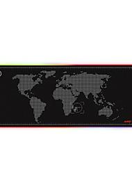 Недорогие -ajazz ajpads игровой коврик для мыши xl 77 * 29.5cm силикон с программируемой подсветкой RGB