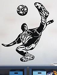 Недорогие -Декоративные наклейки на стены - Простые наклейки Футбол В помещении
