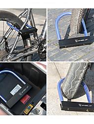 Недорогие -Wheel up U-образный велосипедный замок Компактность Износостойкий Безопасность Назначение Шоссейный велосипед Горный велосипед Велоспорт Металл Черный