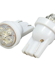Недорогие -2pcs T10 Автомобиль Лампы 1.2 W 4 Светодиодная лампа Подсветка для номерного знака / Внутреннее освещение Назначение Универсальный / Volkswagen / Toyota Все года