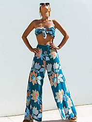 cheap -Women's Set - Floral Pant