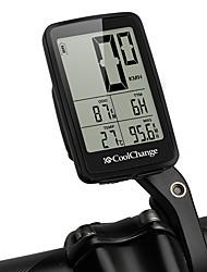 Недорогие -CoolChange 57022 Велокомпьютер Безпроводнлй / Очень тонкий / SPD - скорость сейчас Горный велосипед / Шоссейные велосипеды / Велосипедный спорт / Велоспорт Велоспорт