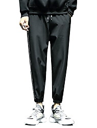 זול -בגדי ריקוד גברים בסיסי צ'ינו מכנסיים אחיד