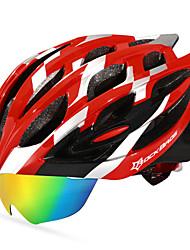 Недорогие -ROCKBROS Взрослые Мотоциклетный шлем 18 Вентиляционные клапаны прибыль на акцию, ПК Виды спорта На открытом воздухе / Велосипедный спорт / Велоспорт -