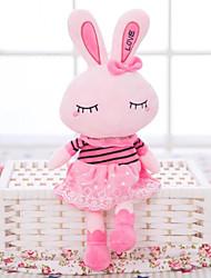 Недорогие -Rabbit Мягкие и плюшевые игрушки Животные Очаровательный Гусиное перо Все Игрушки Подарок 1 pcs