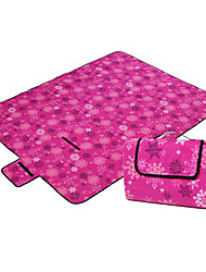 Недорогие -Пикник Одеяло На открытом воздухе Походы Легкость, Быстровысыхающий, Влагонепроницаемый Плюшевая ткань Пляж , Походы / туризм / спелеология, Пикник для 2 человека