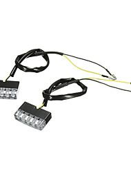 זול -2pcs E11 אופנוע נורות תאורה 5 LED תאורת איתות / אור אחורי עבור אופנועים כל הדגמים כל השנים