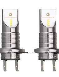 Недорогие -H7 55 Вт 2600lm 6000 К автомобиль светодиодные фары лампы белого противотуманные фары ip68 водонепроницаемый