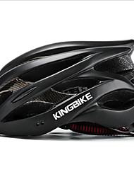 Недорогие -Kingbike Взрослые Мотоциклетный шлем BMX Шлем 9 Вентиляционные клапаны Легкий вес Сетка от насекомых Формованный с цельной оболочкой ESP+PC Виды спорта