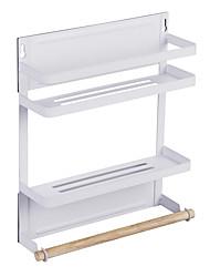 cheap -Kitchen Organization Rack & Holder Metal New Design / Storage / Easy to Use 1 set