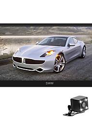 Недорогие -SWM A1+4LEDcamera 7 дюймовый 2 Din Android 8.1 Автомобильный мультимедийный проигрыватель / Автомобильный MP5-плеер / Автомобильный MP4-плеер GPS / Сенсорный экран / MP3 для Универсальный RCA / Другое