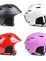 Недорогие -PROPRO® Лыжный шлем Муж. Жен. На открытом воздухе Сноубординг Лыжи Ударопрочный Легко туалетный Снегозащитный ABS + PC CE EN 1077