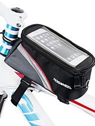 Недорогие -ROSWHEEL Сотовый телефон сумка / Бардачок на раму 5.5 дюймовый Сенсорный экран Велоспорт для iPhone 8 Plus / 7 Plus / 6S Plus / 6 Plus / iPhone X / iPhone XR Красный