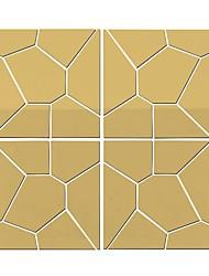 Χαμηλού Κόστους -Διακοσμητικά αυτοκόλλητα τοίχου - Αυτοκόλλητα Τοίχου Καθρέφτης Σχήματα Σαλόνι / Υπνοδωμάτιο