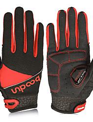 Недорогие -BOODUN Перчатки для велосипедистов Перчатки для горного велосипеда Горные велосипеды На подкладке Противозаносный Ударопрочность Защитный Спортивные перчатки Силиконовый гель Махровая ткань