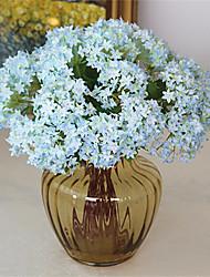 Недорогие -Искусственные Цветы 9 Филиал Классический Традиционный / классический европейский Гортензии Вечные цветы Букеты на стол