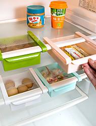 Недорогие -ящики для хранения для организации кухни / для хранения продуктов питания / для хранения продуктов для хранения из пластика / для творческой кухонной утвари 1pc