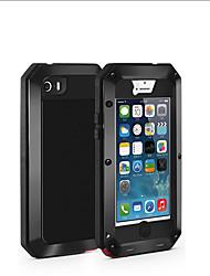 Недорогие -Кейс для Назначение Apple iPhone XS / iPhone XR / iPhone XS Max Защита от удара / Защита от пыли / Защита от влаги Чехол броня Мягкий Металл