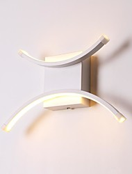Недорогие -Современный современный Настенные светильники Металл настенный светильник 220 Вольт / 110 Вольт 10 W / Интегрированный светодиод