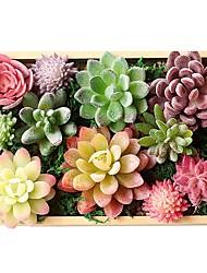 halpa -Keinotekoinen Flowers 1 haara Klassinen minimalistisesta Herkulliset kasvit Pöytäkukka