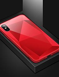 זול -מגן עבור Apple iPhone XS / iPhone XS Max עמיד בזעזועים / מראה כיסוי אחורי אחיד קשיח אקרילי / PC ל iPhone XS / iPhone XR / iPhone XS Max