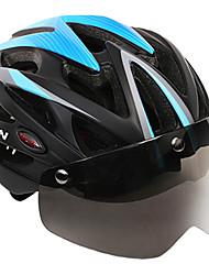 Недорогие -MOON Взрослые Мотоциклетный шлем Аэрошлем 25 Вентиляционные клапаны CE Ударопрочный Легкий вес С возможностью регулировки прибыль на акцию ПК Этиленвинилацетат Виды спорта / Сетка от насекомых