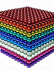 Недорогие -216/648/1000 pcs 3mm Магнитные игрушки Магнитные шарики Конструкторы Сильные магниты из редкоземельных металлов Неодимовый магнит Неодимовый магнит / Стресс и тревога помощи