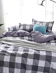 hesapli -Nevresim Takımları Çiçekli / Lüks / Çağdaş Polyester Basılı 4 ParçaBedding Sets