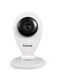 Недорогие -Sricam® 720p ip-камера беспроводная HD 1.0mp WLAN H.264 безопасности видеонаблюдения панорамирование / плитка Wi-Fi радионяня sp009