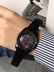 Недорогие -Жен. Спортивные часы Механические часы Японский Японский кварц Кожа Черный / Синий / Коричневый Повседневные часы Аналоговый На каждый день Элегантный стиль - Коричневый Синий Розовый