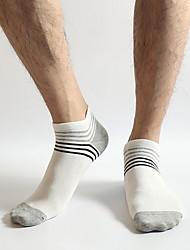 """Недорогие -мужские хлопчатобумажные средние носки 12 """"(31 см)"""