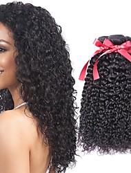 abordables -Lot de 6 Cheveux Brésiliens Kinky Curly Cheveux Vierges Naturel Tissages de cheveux humains Bundle cheveux One Pack Solution 8-28 pouce Couleur naturelle Tissages de cheveux humains Design Tendance