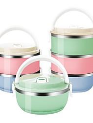 Недорогие -коробка цвета градиента японская коробка обеда термальная для коробки bento еды нержавеющей стали