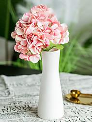 Χαμηλού Κόστους -Ψεύτικα λουλούδια 2 Κλαδί Κλασσικό Γάμος Λουλούδια Γάμου Ορτανσίες Αιώνια Λουλούδια Λουλούδι για Τραπέζι
