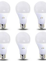 Недорогие -EXUP® 6шт 12 W 1180 lm B22 / E26 / E27 Круглые LED лампы 28 Светодиодные бусины SMD 2835 Тёплый белый / Холодный белый 220-240 V / 110-130 V