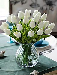 Недорогие -Искусственные Цветы 10 Филиал Классический европейский Простой стиль Тюльпаны Букеты на стол